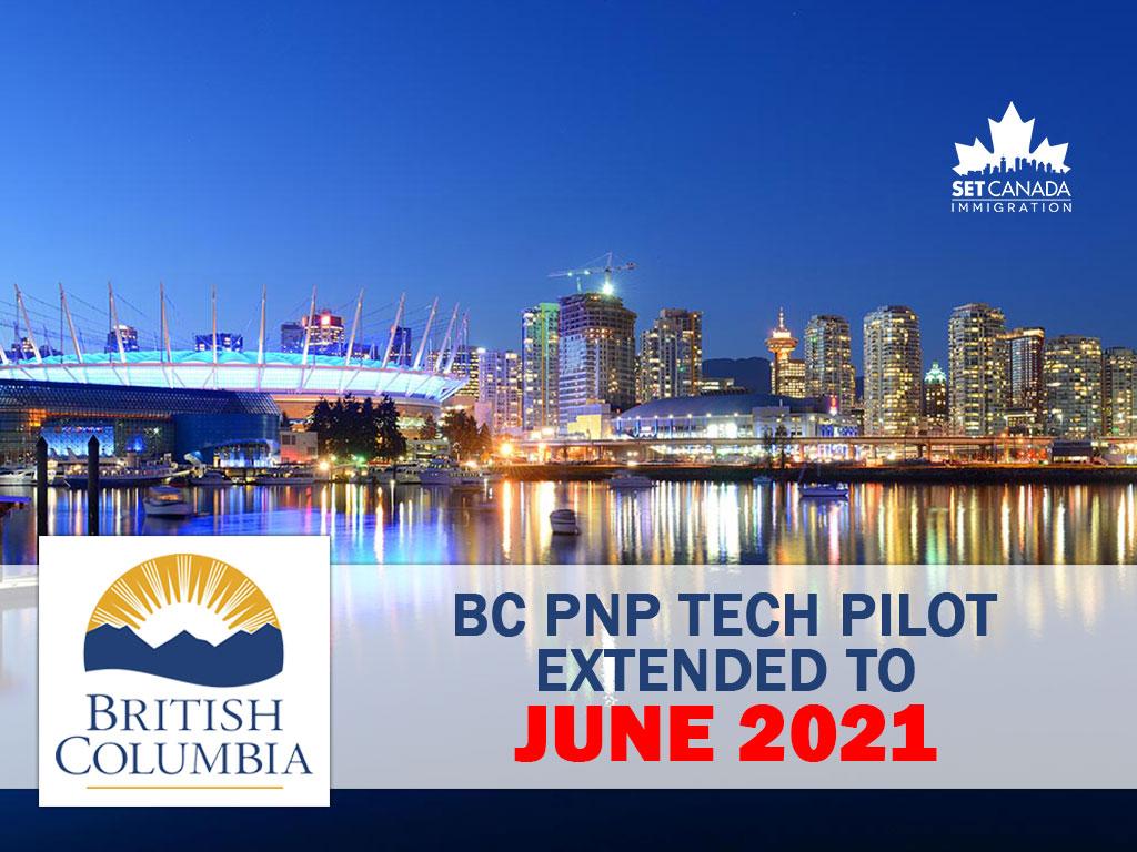 BC PNP TECH Pilot 2020